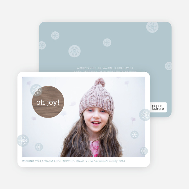 Christmas Cards: Oh Joy - Blue