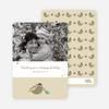 Holiday Photo Cards: Parent & Child - Khaki
