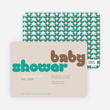 Superstar Baby Shower - Brown