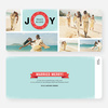 Wreath of Joy Holiday Cards - Green
