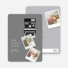 Polaroid Holidays - Gray