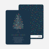 Colorful Christmas Tree Invitations - Main View