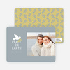 Peace on Earth Dove Holiday Cards - White