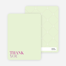 Bold Celebration: Thank You Cards - Magenta
