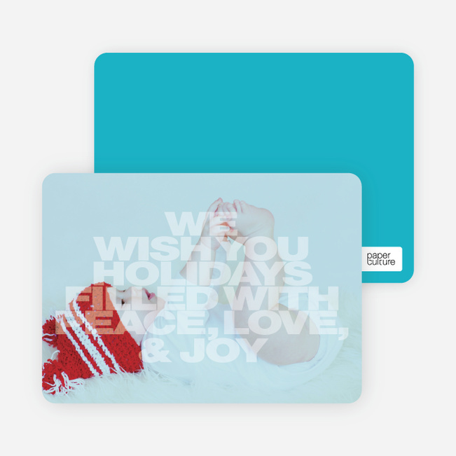 Christmas & New Year's Cards - Blue