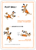 Babe Woof: Baseball Invitations - Front View