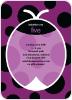 Purple Ladybug - Front View