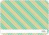 Holiday Diagonal Stripes - Back View