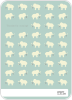 Ellie the Elephant: Thank You Cards - Back View
