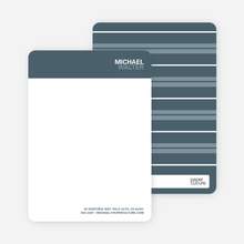 Bold Type Stationery - Cool Gray