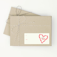 Candy Cane Joy & Love Tags - Green