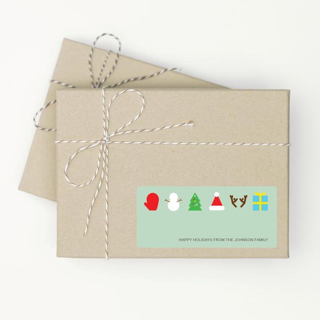Christmas Icons - Green