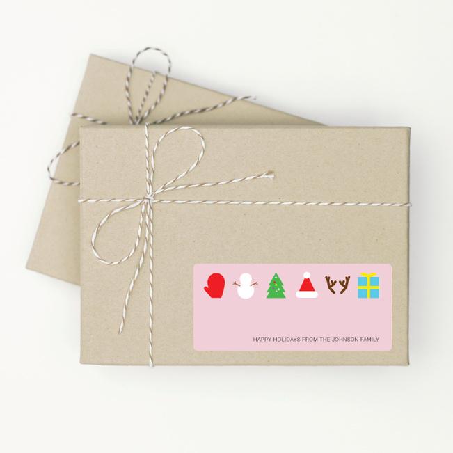 Christmas Icons - Pink