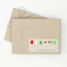 Christmas Icons - Beige