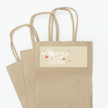 Christmas Gift Tags - Brown
