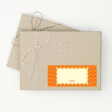 Circle Pattern - Orange