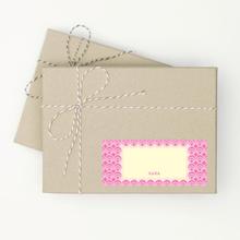 Circle Pattern - Pink