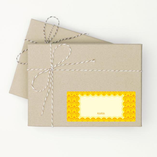 Circle Pattern - Yellow