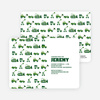 Dump Truck, Forklift & Bulldozer Birthday Invitation - Forest Green