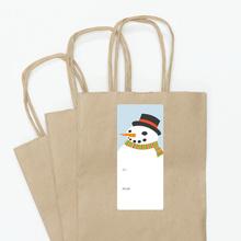 Frosty the Snowman - Blue