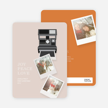 Instant Photo Holidays - Orange
