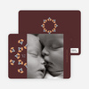 Mistletoe Holiday Photo Cards - Cinnamon