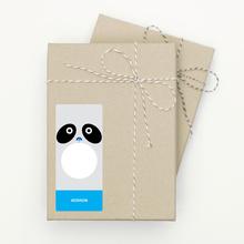 Panda Face - Black