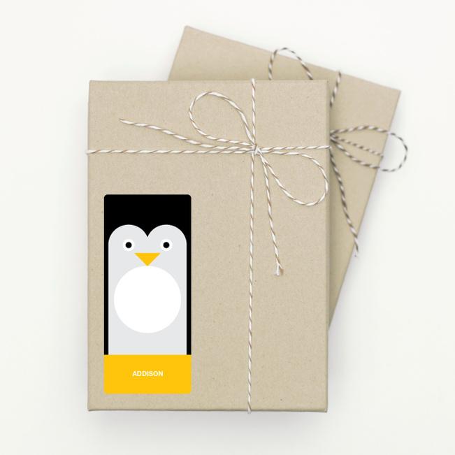 Penguin Face - Black