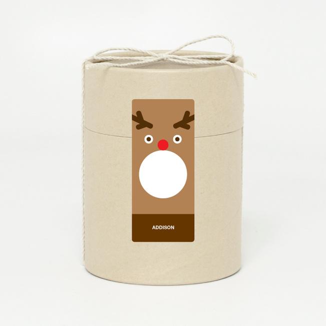 Reindeer Face - Brown