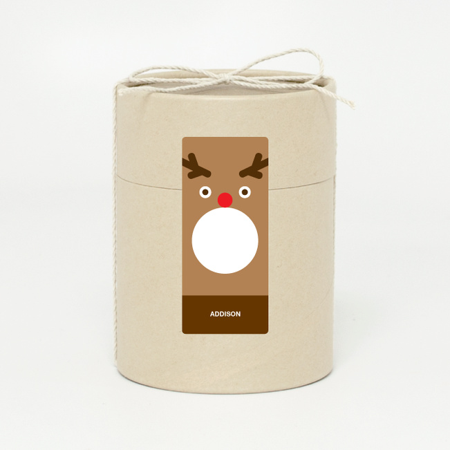 Reindeer Face - Brown