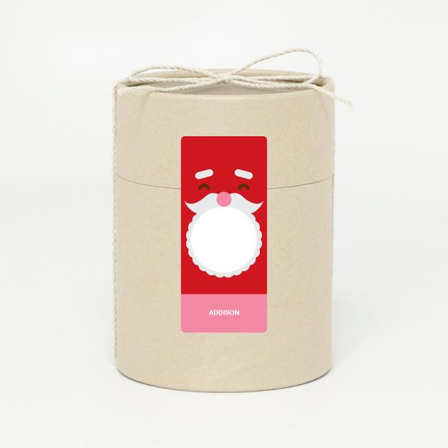 Santa Face - Red
