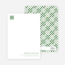 Square Block Initials - Pine