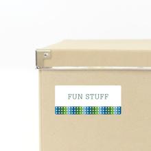 Star Storage Labels - Green