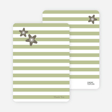 Stationery: 'Floral Bridal Shower' cards. - Taupe