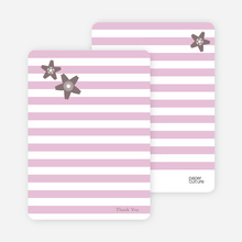 Floral Bridal Shower Note Cards - Cotton Candy Pink