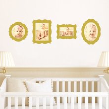 Antique Photo Frame Decals - Yellow