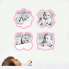 Modern Picture Frames - Wall Decal View