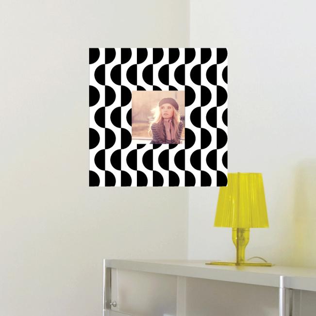 Fashion Frames Photo Wall Decals - Black