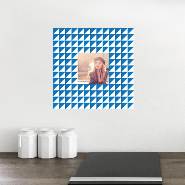 Fashion Frames Photo Wall Decals - Blue