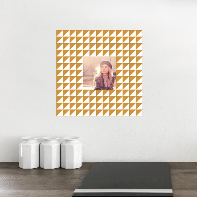 Fashion Frames Photo Wall Decals - Brown