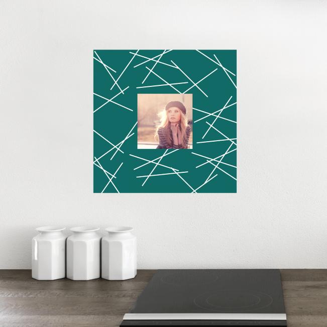 Fashion Frames Photo Wall Decals - Green