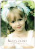 Classic Easter Photo Card - Front View