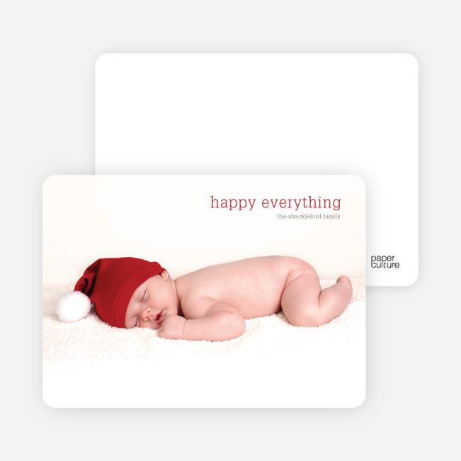 Bare Essentials Holiday Cards - Sangria