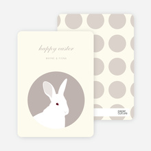 Bold Easter Bunny - Moss Green