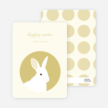 Bold Easter Bunny - Arylide Yellow
