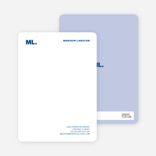 Business Stationery - Blueberry