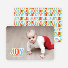Child's Play Holiday Photo Cards - Carrot