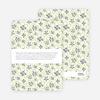 Daisy Pattern Holiday Invitations - Dutch Iris