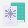 Kaleidoscope Holiday Invitations - Wisteria