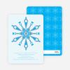 Kaleidoscope Holiday Invitations - Powder Blue